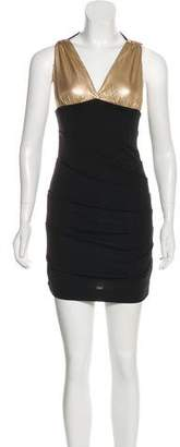 Nicole Miller Halter Mini Dress