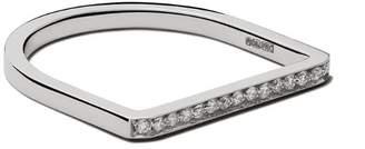 VANRYCKE 18kt white gold and diamond Medellin ring