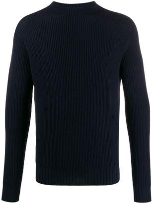 Aspesi mock ribbed jumper