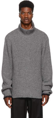 3.1 Phillip Lim Grey Chucky Wool Turtleneck