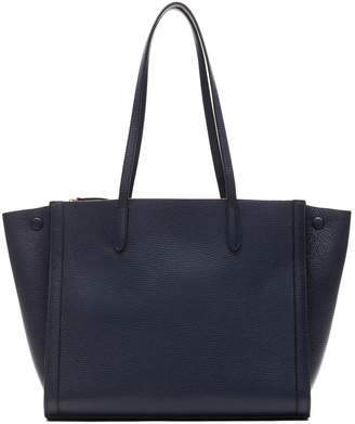 Banana Republic Italian Leather Large Tailored Tote Bag