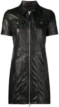 Diesel Black Gold short fitted dress