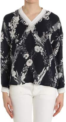 Ballantyne Floral Patterned Blouse