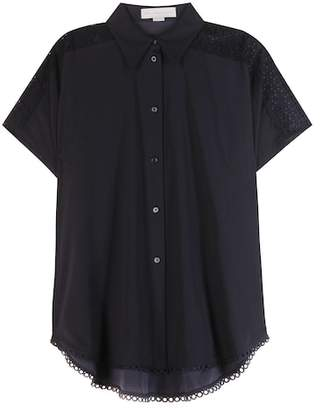 Stella McCartney Toby cotton-blend blouse