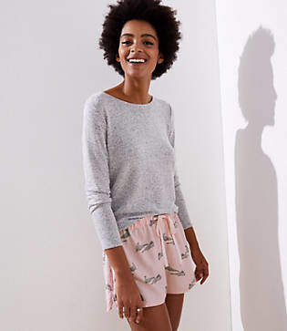 LOFT Walrus Pajama Shorts