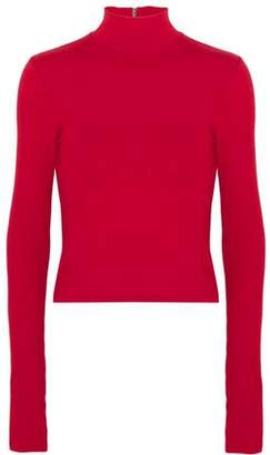 Alice + Olivia Alice+olivia Garrison Knitted Turtleneck Top