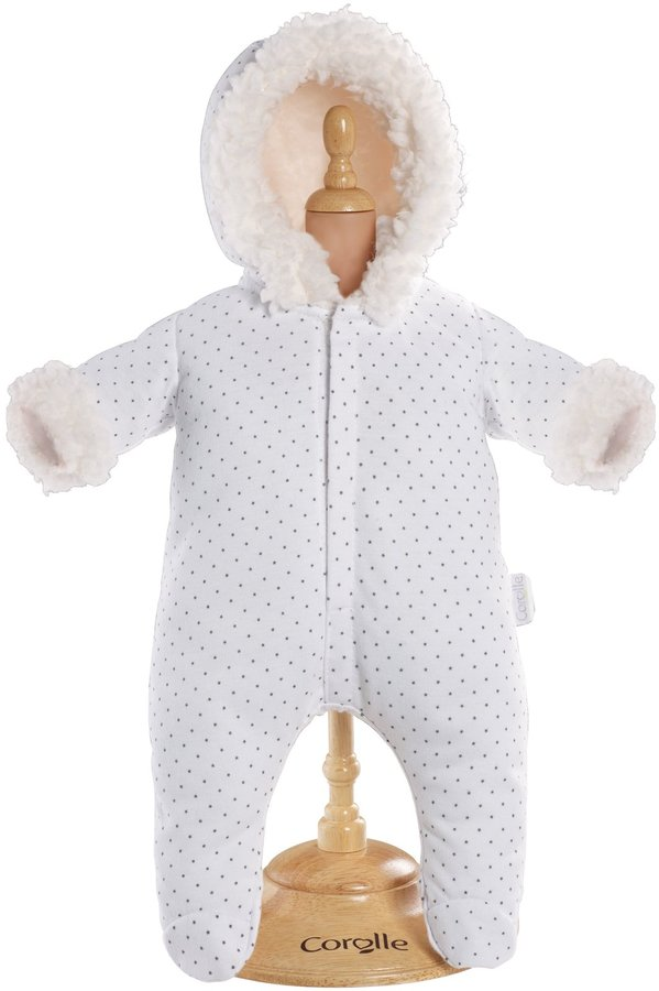 "Corolle Mon Classique 14"" Doll Fashions (White Snowsuit)"