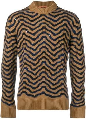 Missoni wavy knit jumper