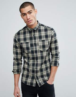 ONLY & SONS Checked Shirt In Regular Fit