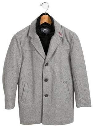 Appaman Fine Tailoring Boys' Layered Wool Coat