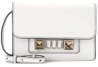Proenza Schouler PS11 Mini leather wallet with strap