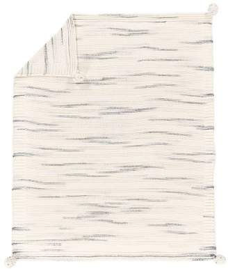 Pottery Barn Teen Lily Ashwell Space Dye Knit Throw, 50&quotX60&quot, Blue Multi