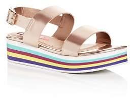 Steve Madden Girls' JKylie Slingback Platform Sandals - Little Kid, Big Kid