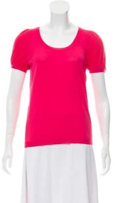 RED Valentino Virgin Wool Rib Knit Top w/ Tags