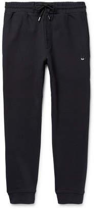 McQ Slim-Fit Tapered Loopback Cotton-Jersey Sweatpants
