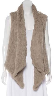 June Fur Casual Vest