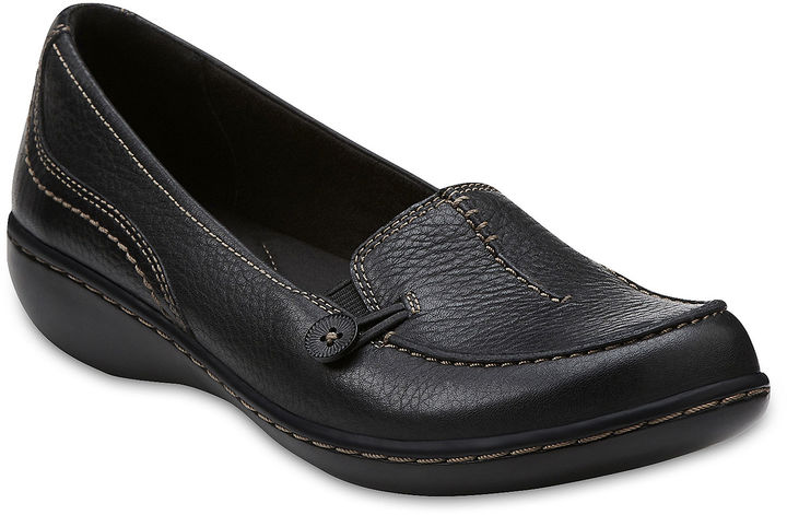 Clarks Ashland Scurry Leather Loafers