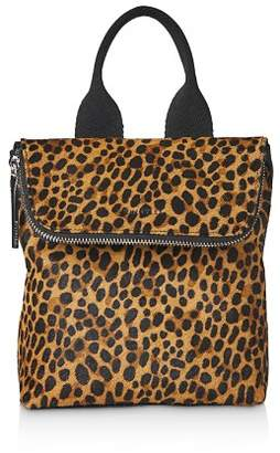 Whistles Mini Verity Leopard Print Backpack