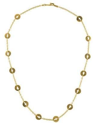 Pianegonda 18K Heart & Cross Charm Necklace