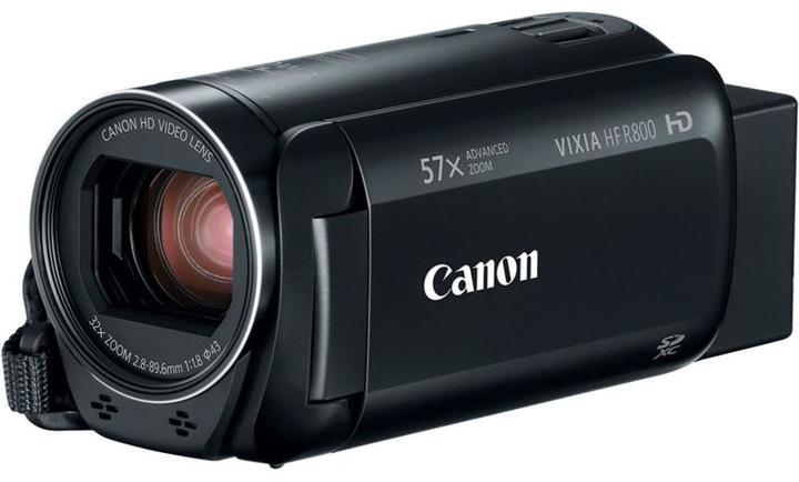 Canon VIXIA HF R800 Full HD 32X Optical Zoom/57X Advanced Zoom Camcorder - Black