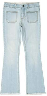 Stella McCartney Low-Rise Straight Leg Jeans w/ Tags