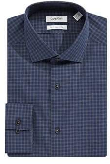 Calvin Klein Slim-Fit Cotton Button-Down Shirt