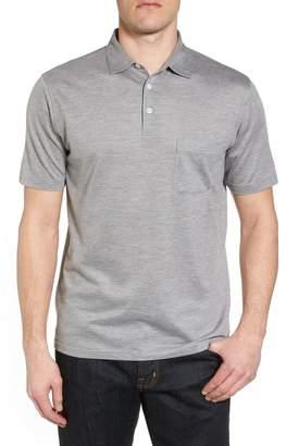 Peter Millar Discovery Silk & Cotton Polo