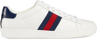 Ace leather low-top sneaker $540 thestylecure.com