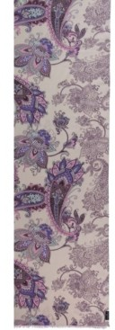 Fraas Paisley Floral Oblong Scarf