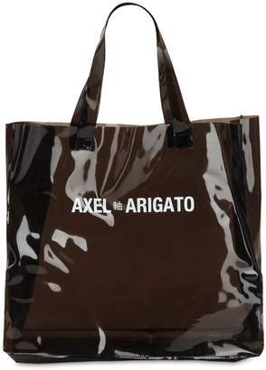 clear Axel Arigato Grocery Tote Bag