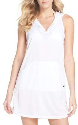 Nike Hooded Cover-Up Dress