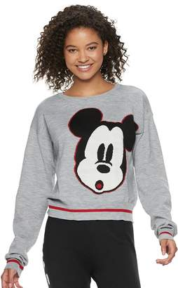 a851d0371e ... Disney s Mickey Mouse 90th Anniversary Juniors  Intarsia Sweater