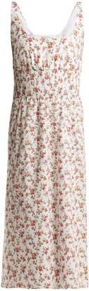 Emilia Wickstead Giovanna floral-print cotton midi dress