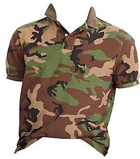 Polo Ralph Lauren Men's Custom Slim-Fit Camo Polo Shirt