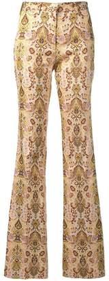 Etro paisley-print trousers