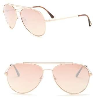 Tom Ford Aviator Sunglasses 58mm