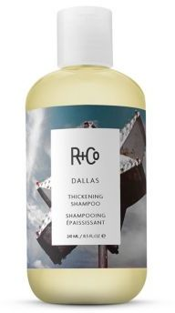 R+Co DALLAS Thickening Shampoo/8.5 oz. $24 thestylecure.com