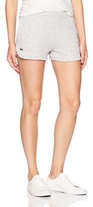 Lacoste Women's Sport Fleece Drawstring Tennis Shorts