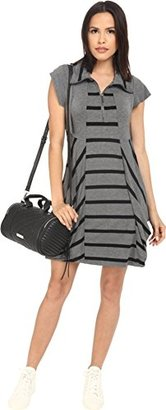 Kensie Women's Drapey French Terry Dress $44.99 thestylecure.com