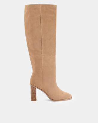 Ted Baker DOLARE Suede knee high boots