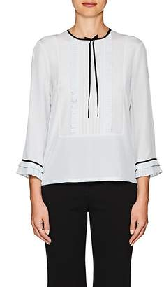 Marc Jacobs Women's Pleated Silk Blouse