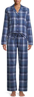 Derek Rose Ranga Plaid Classic Pajama Set