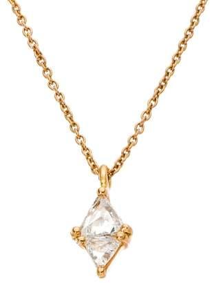 Couture SETHI Trillion Diamond Pendant Necklace