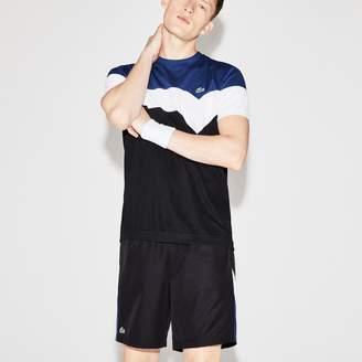 Lacoste Men's SPORT Tennis Colorblock Technical Pique T-shirt