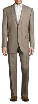 Canali Single Breasted Wool Suit