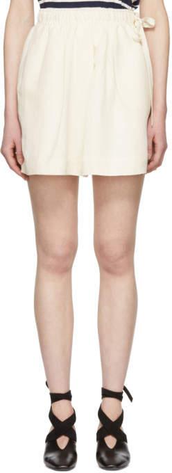 Off-white Logo Pocket Shorts