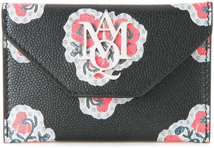 Alexander McQueenAlexander McQueen insignia envelope card holder
