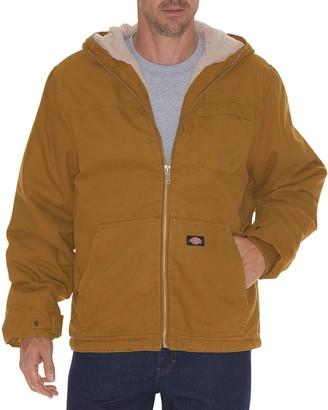 Dickies Men's Sherpa-Lined Hooded Jacket