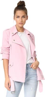 endless rose Oversized Moto Jacket $143 thestylecure.com