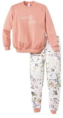 Calida Girl's Lacy Lady Mädchen Pyjama Bündchen Sets